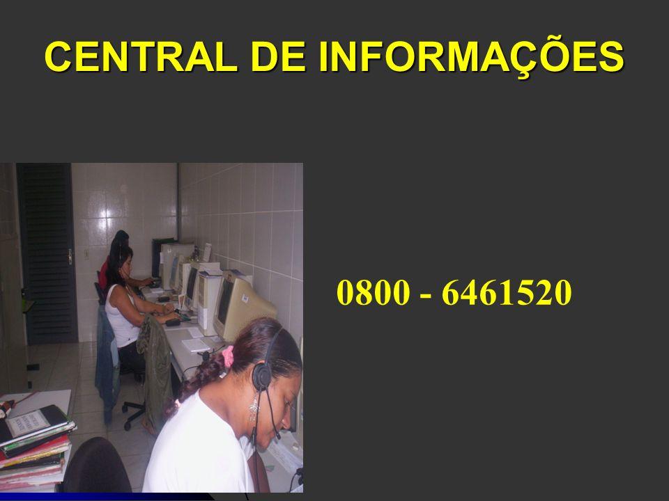 CENTRAL DE INFORMAÇÕES