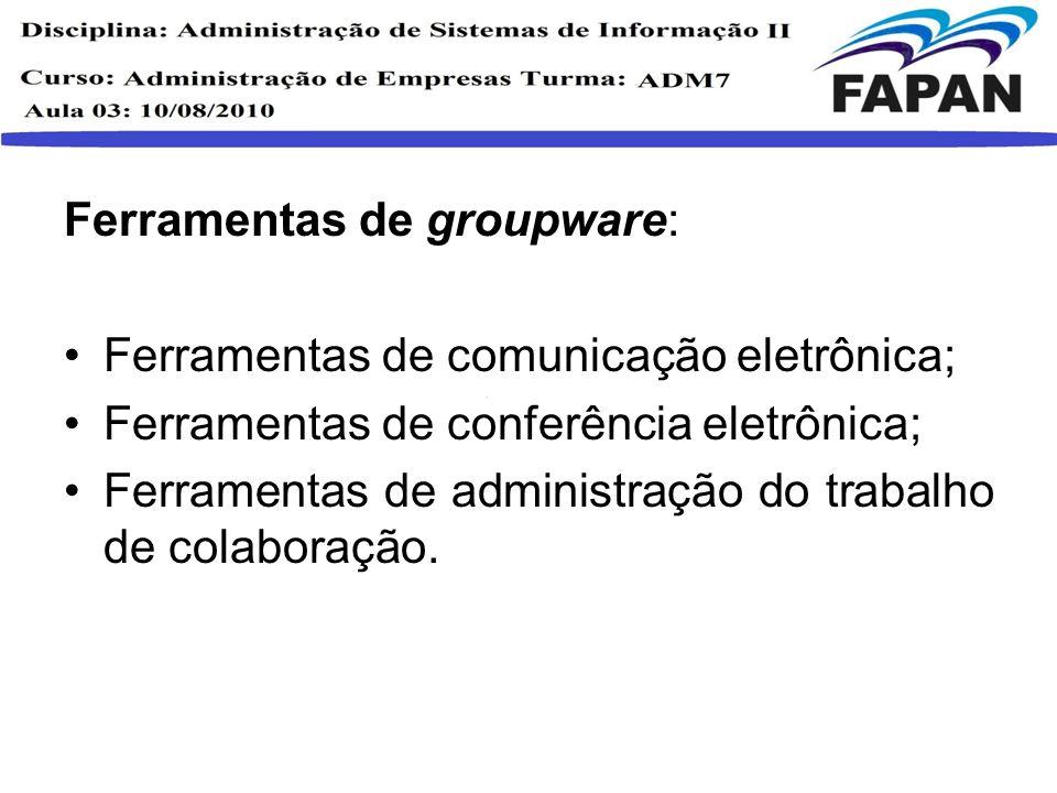 Ferramentas de groupware: