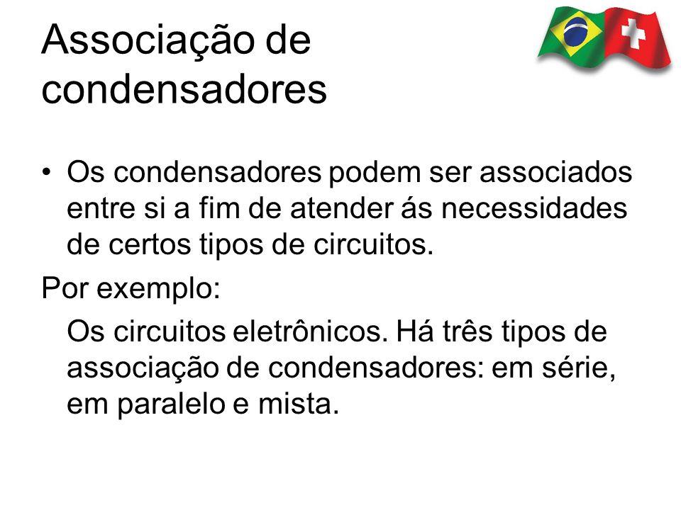 Associação de condensadores