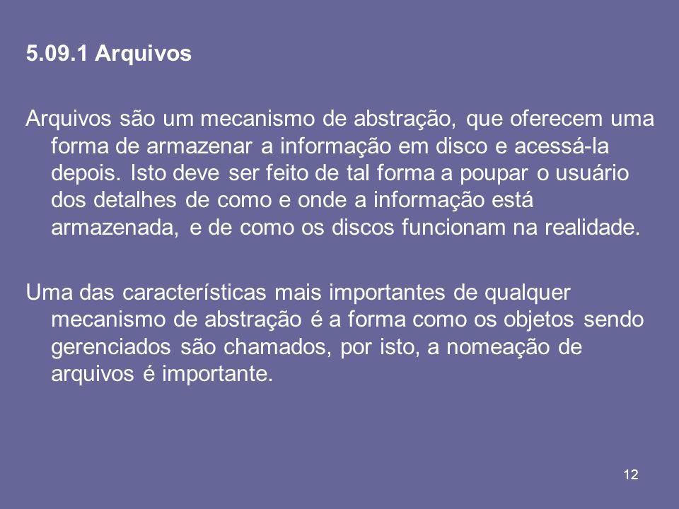 5.09.1 Arquivos