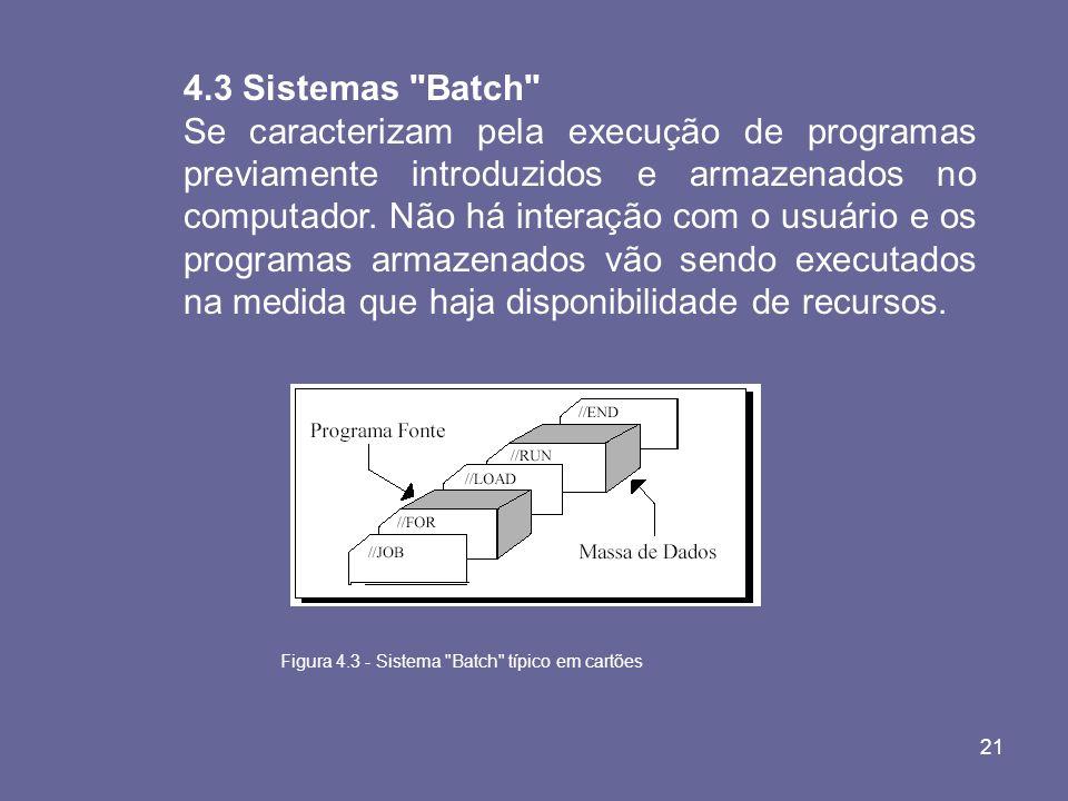 4.3 Sistemas Batch