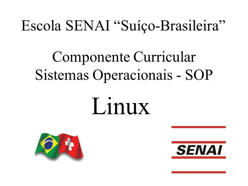 Componente Curricular Sistemas Operacionais - SOP