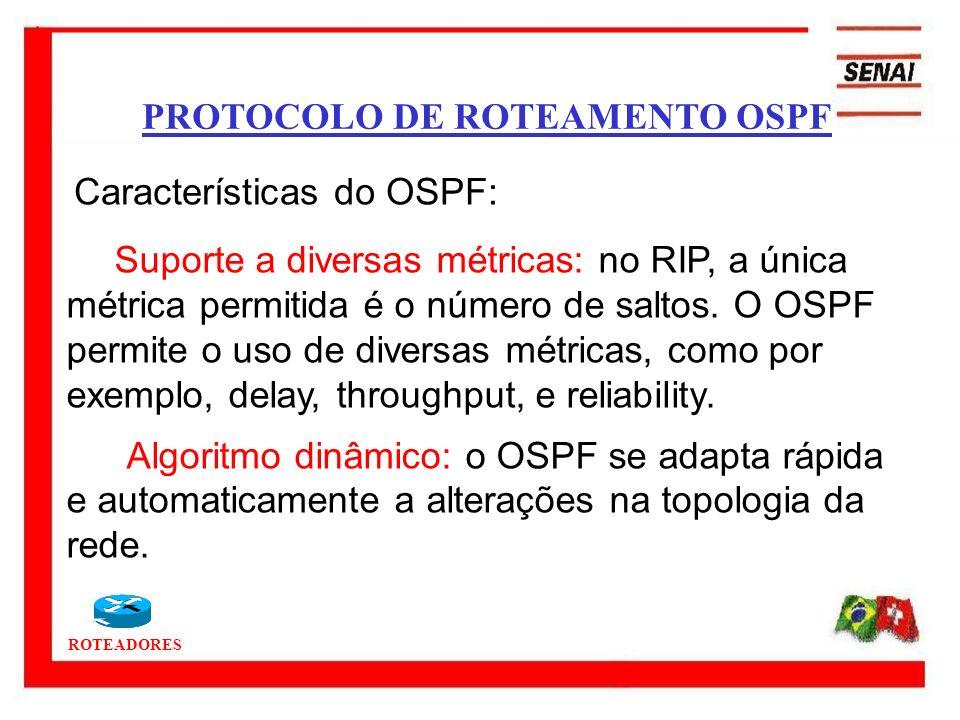 PROTOCOLO DE ROTEAMENTO OSPF