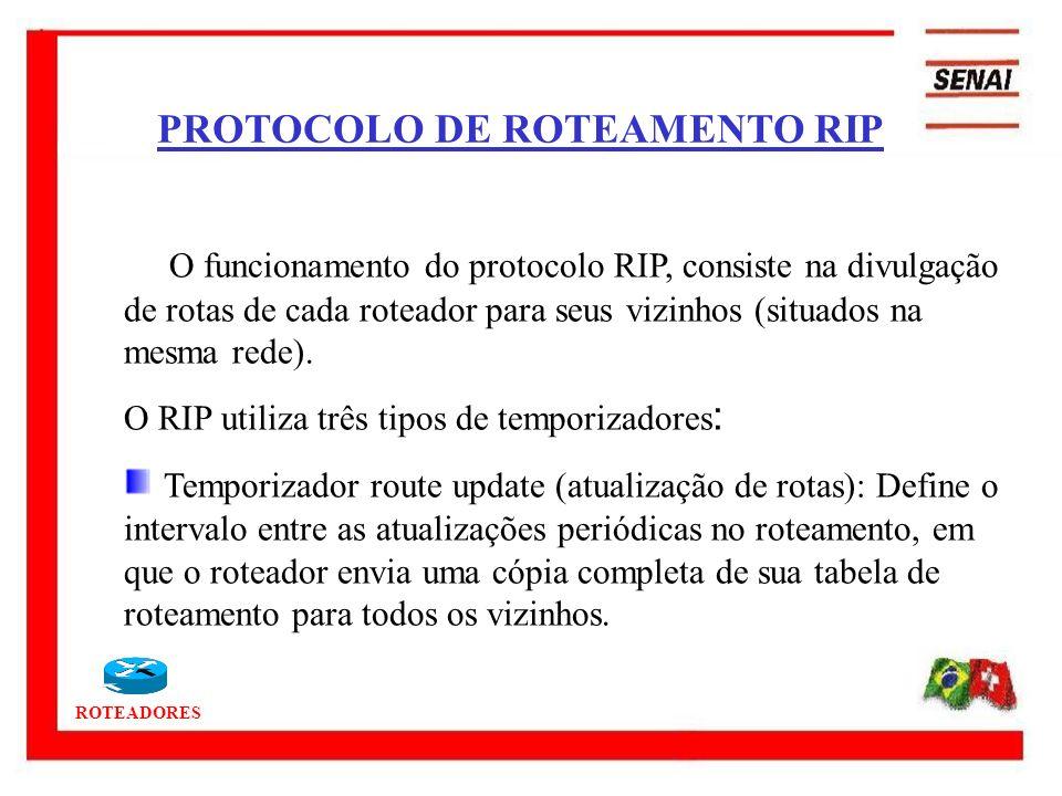 PROTOCOLO DE ROTEAMENTO RIP