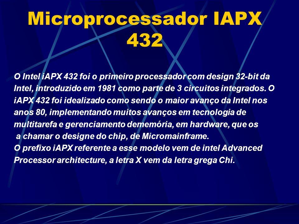 Microprocessador IAPX 432