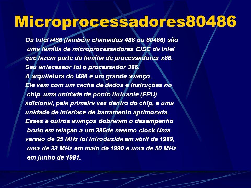 Microprocessadores80486