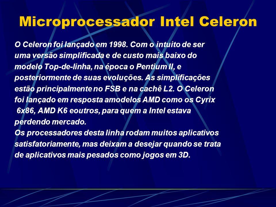 Microprocessador Intel Celeron
