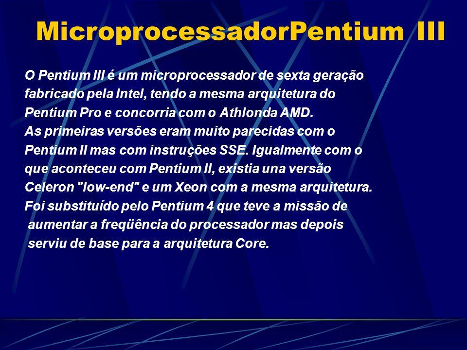 MicroprocessadorPentium III