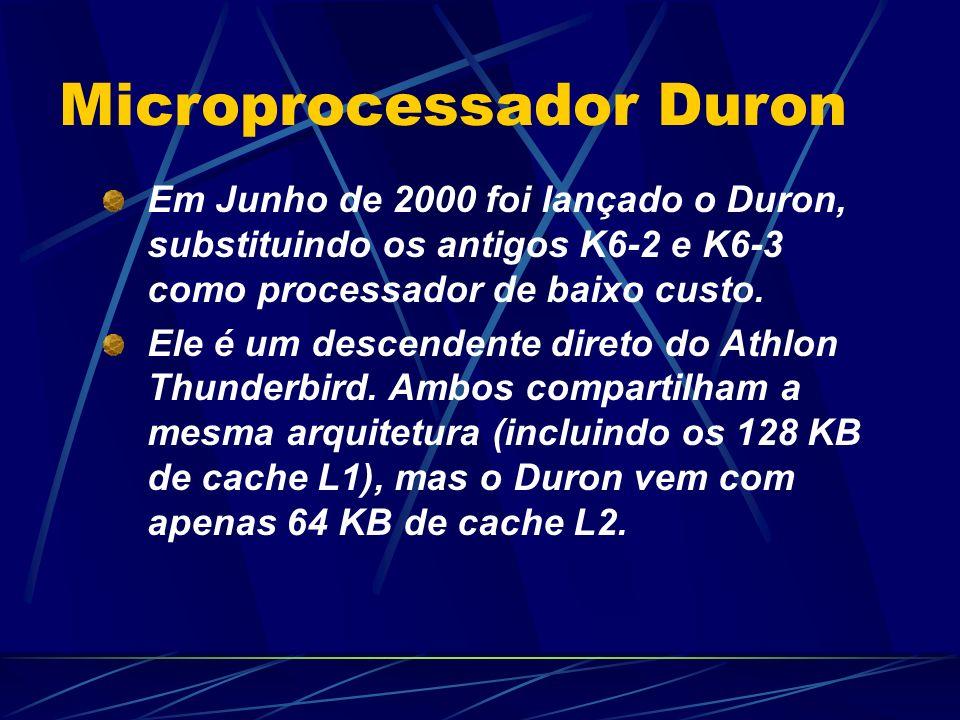 Microprocessador Duron