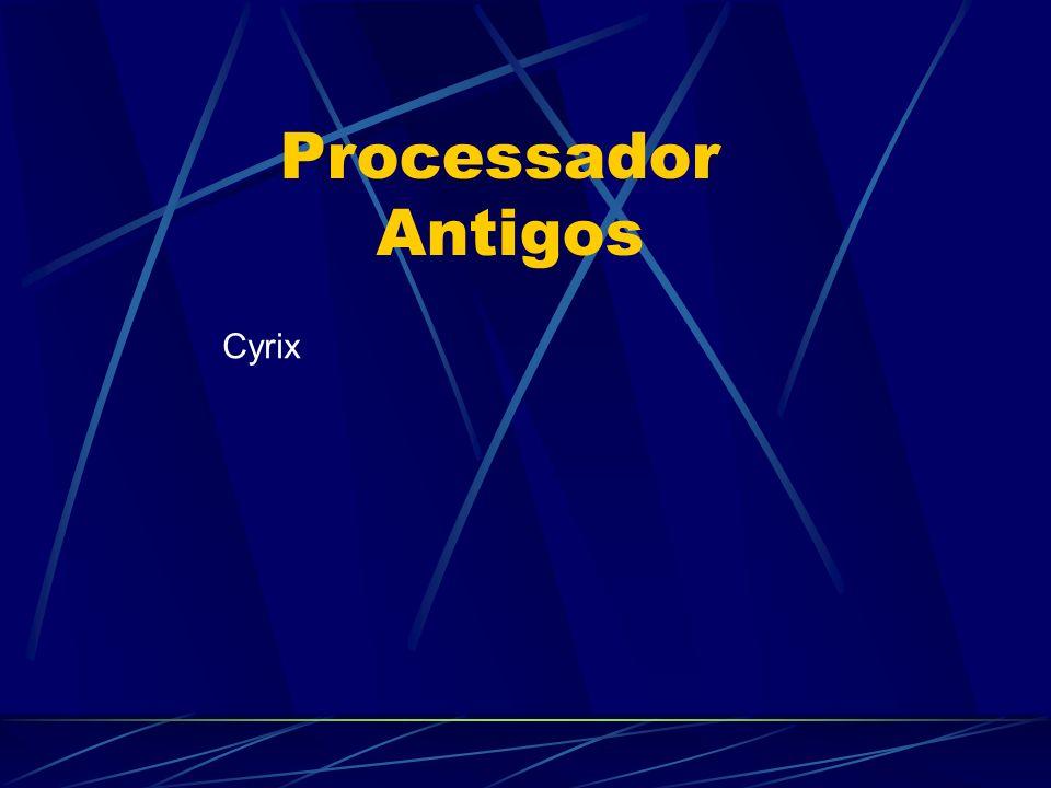 Processador Antigos Cyrix