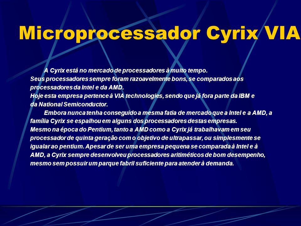 Microprocessador Cyrix VIA