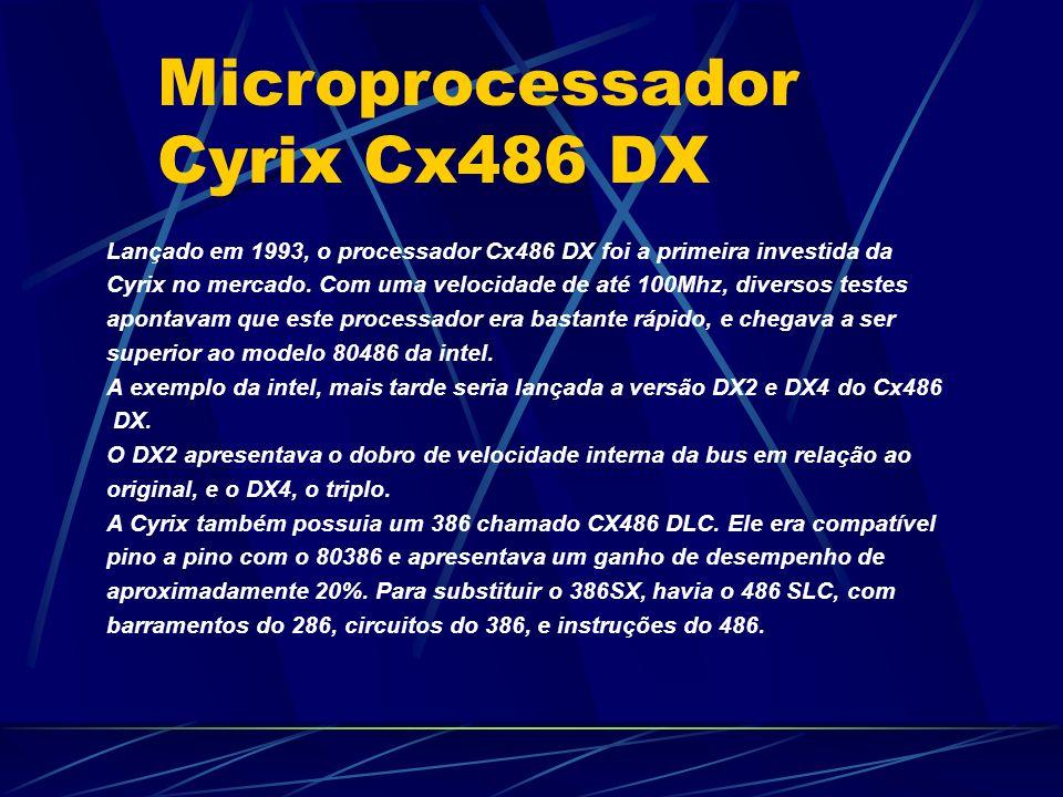 Microprocessador Cyrix Cx486 DX