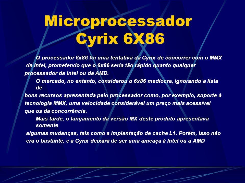 Microprocessador Cyrix 6X86
