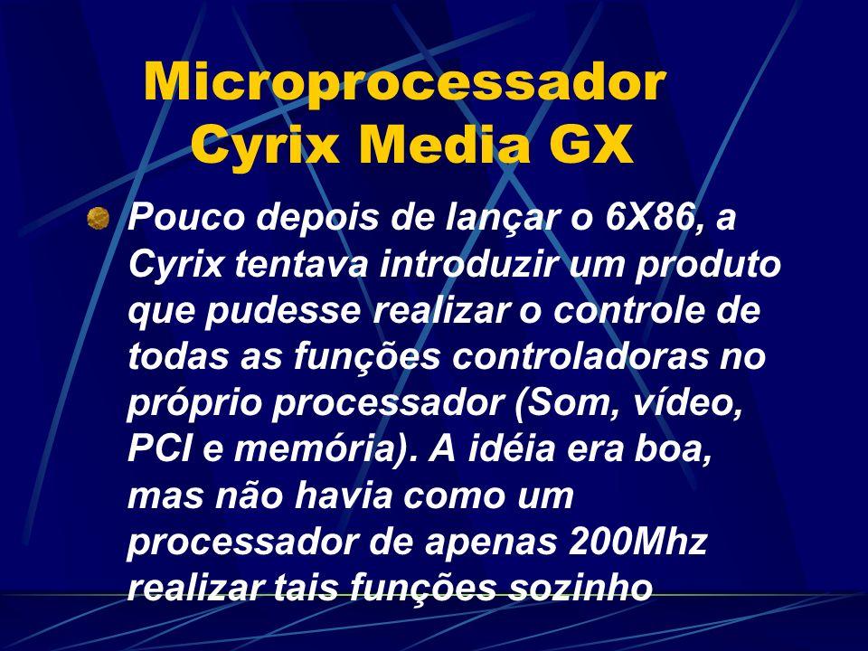 Microprocessador Cyrix Media GX