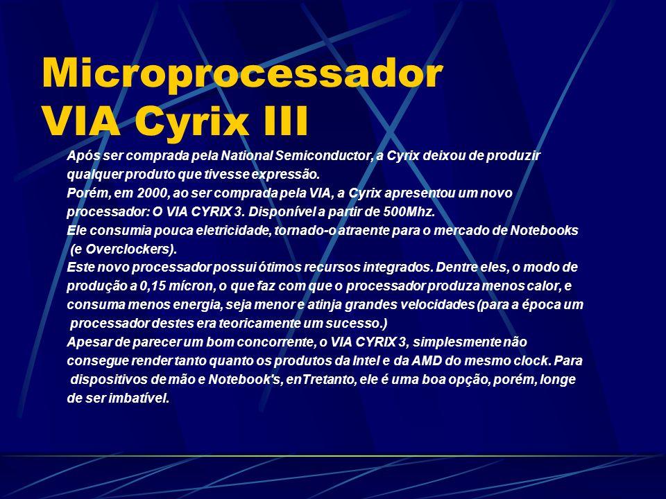 Microprocessador VIA Cyrix III