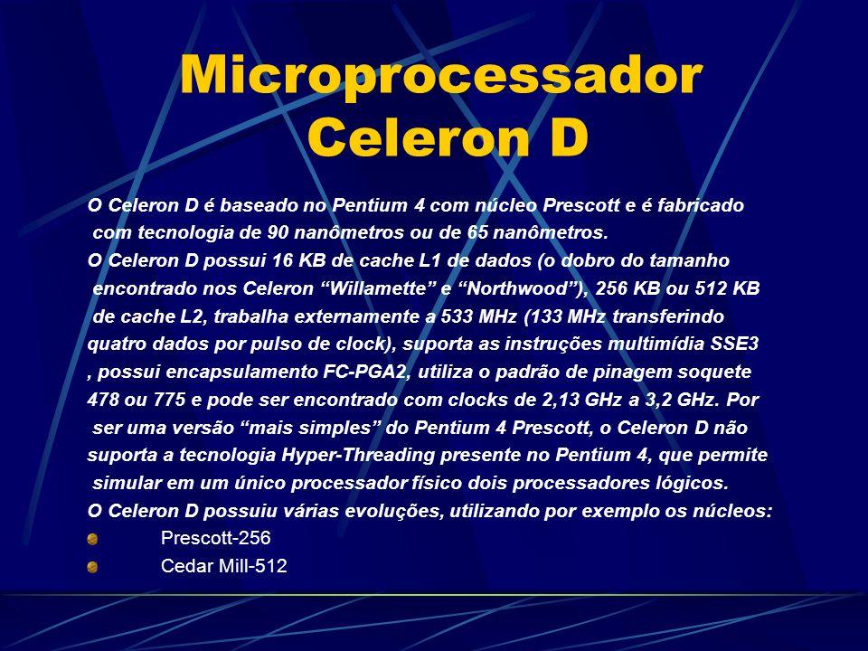 Microprocessador Celeron D