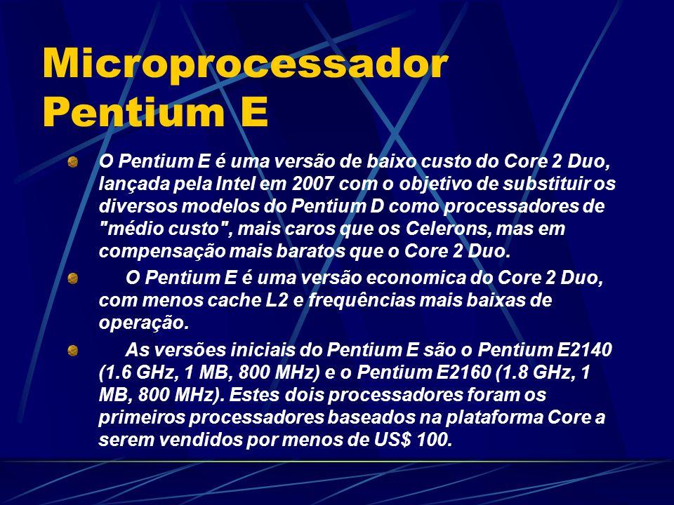 Microprocessador Pentium E