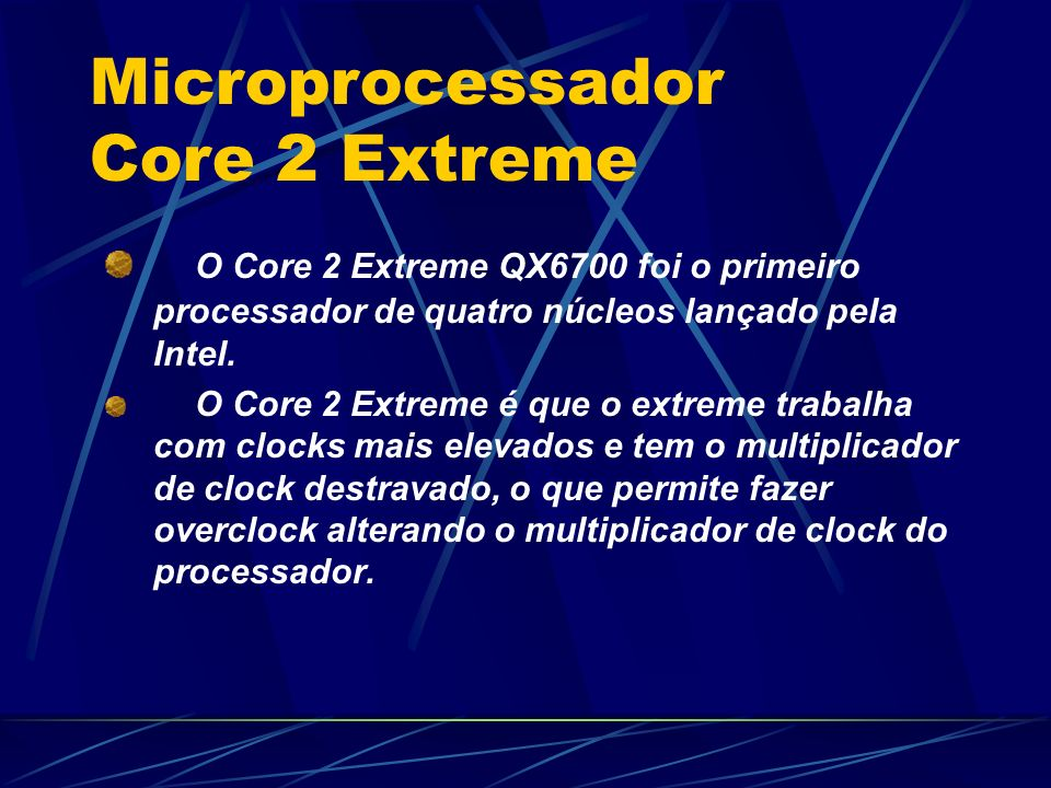 Microprocessador Core 2 Extreme
