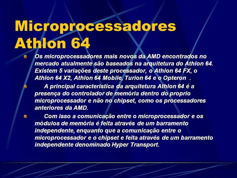 Microprocessadores Athlon 64