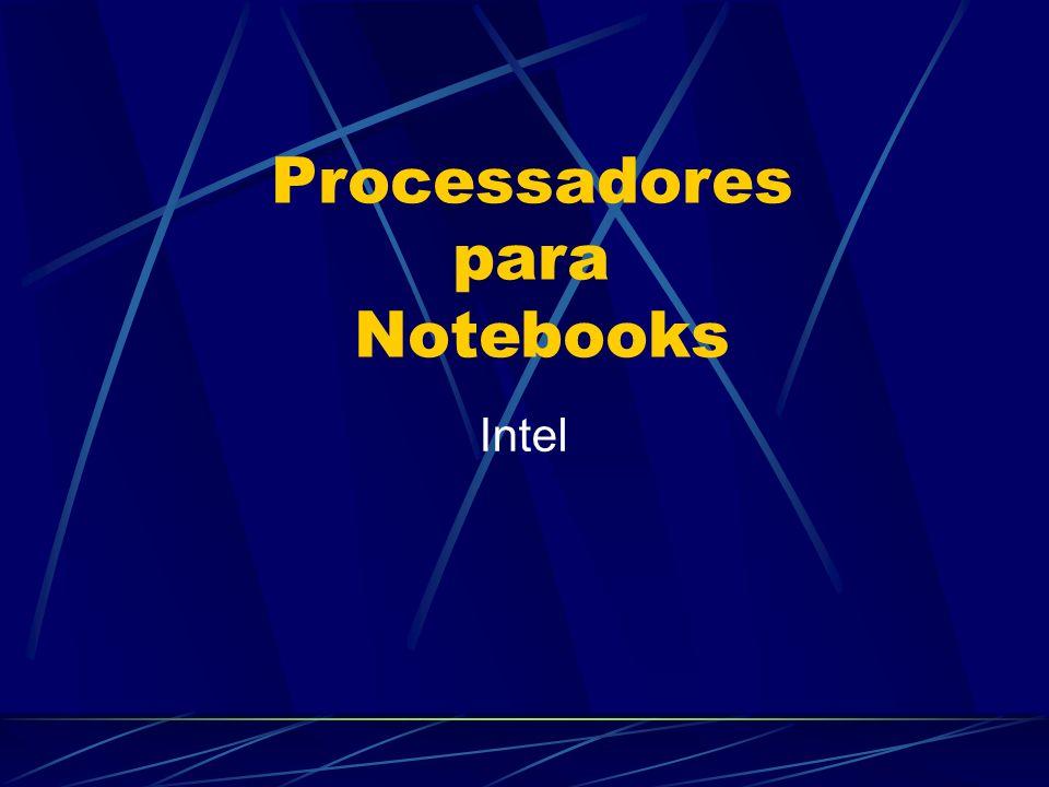 Processadores para Notebooks Intel