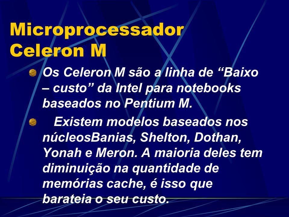 Microprocessador Celeron M