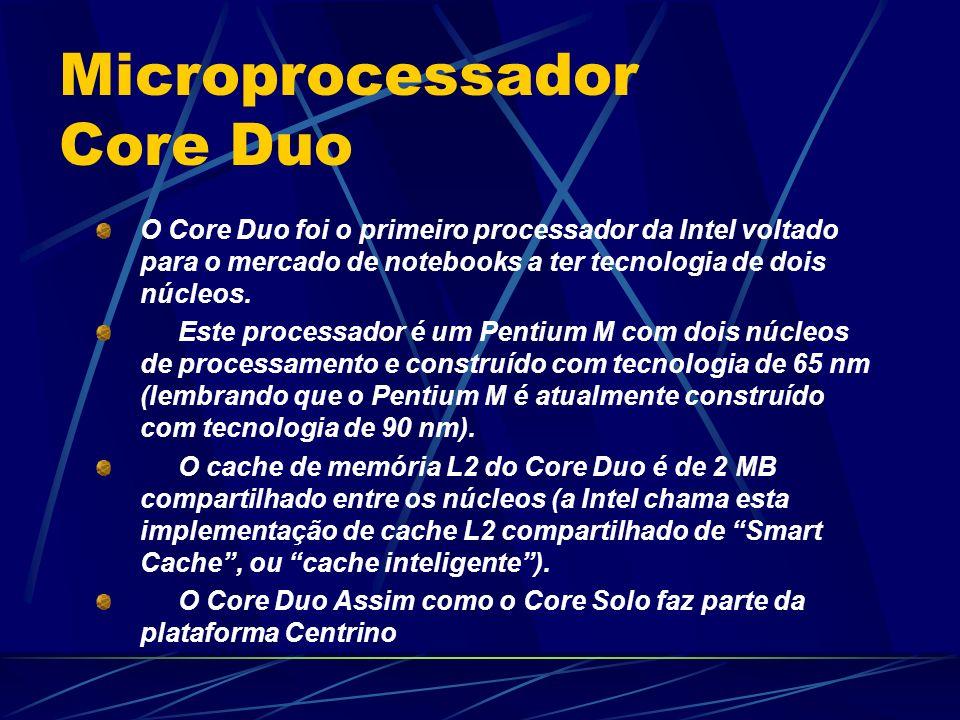 Microprocessador Core Duo