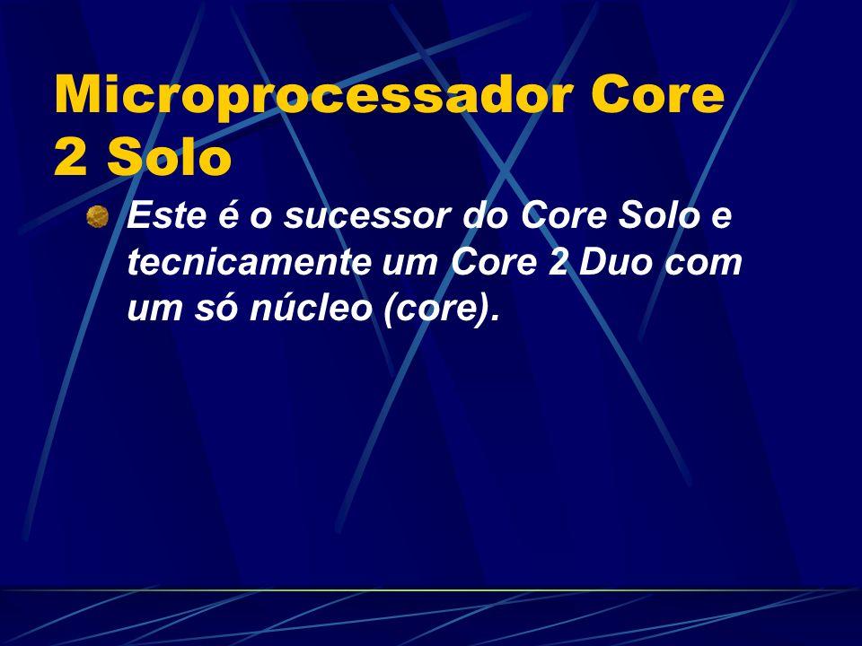Microprocessador Core 2 Solo
