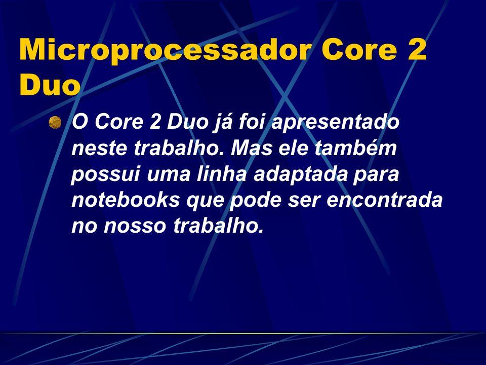 Microprocessador Core 2 Duo