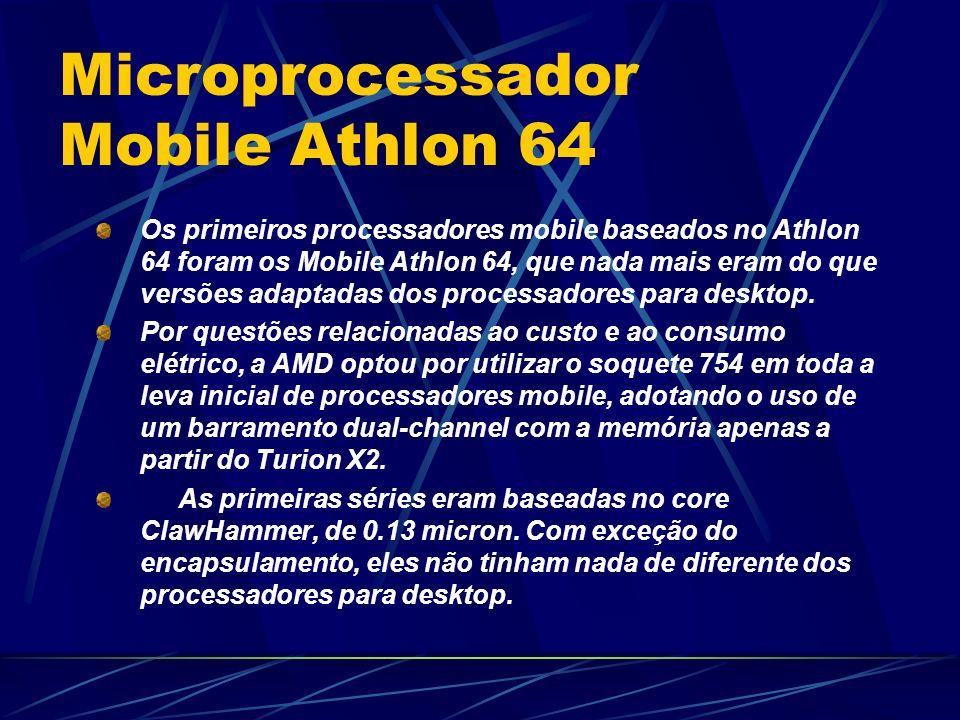 Microprocessador Mobile Athlon 64
