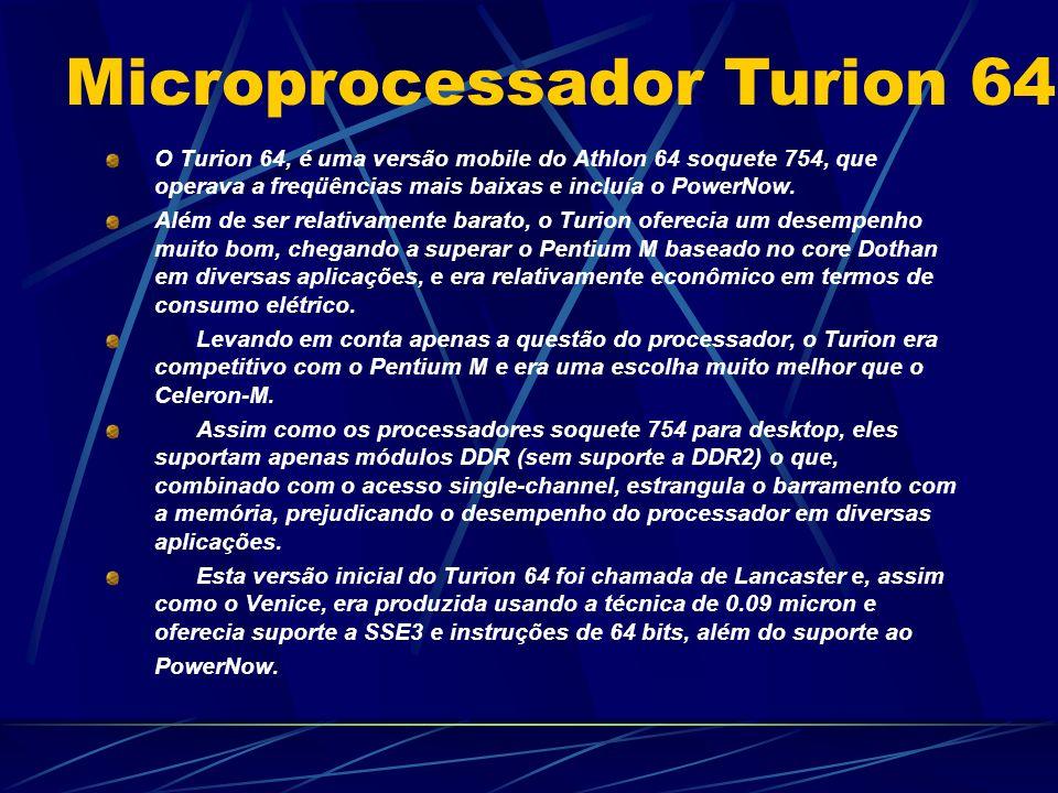 Microprocessador Turion 64