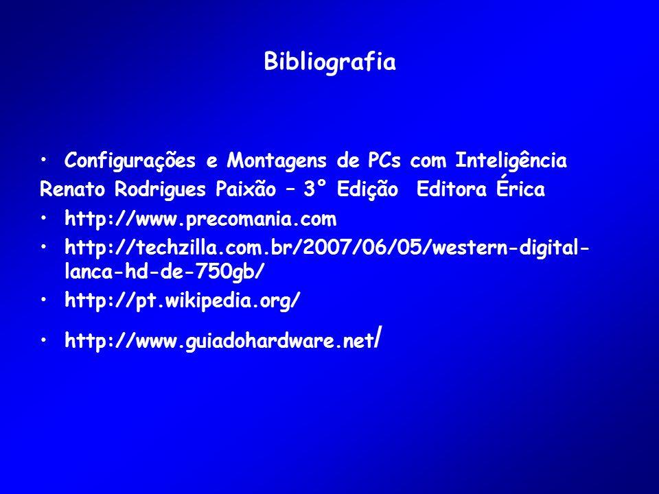 Bibliografia Configurações e Montagens de PCs com Inteligência
