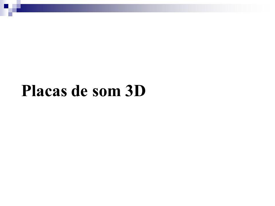 Placas de som 3D