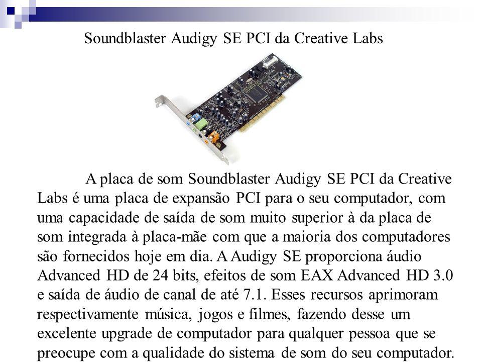 Soundblaster Audigy SE PCI da Creative Labs