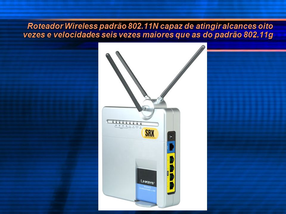 Roteador Wireless padrão 802