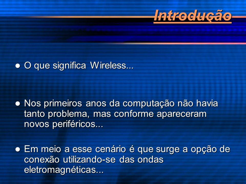 Introdução O que significa Wireless...