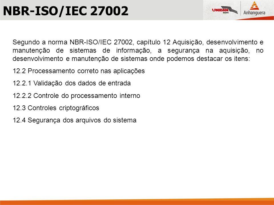 NBR-ISO/IEC 27002