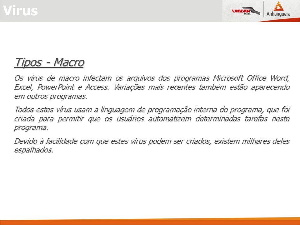 Virus Tipos - Macro.