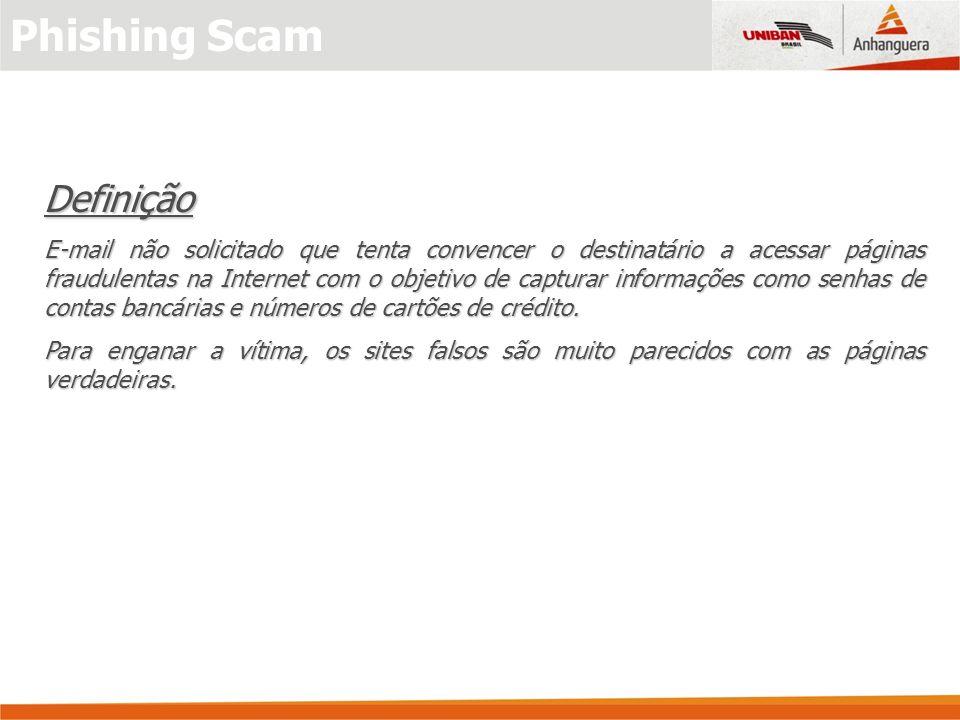 Phishing Scam Definição