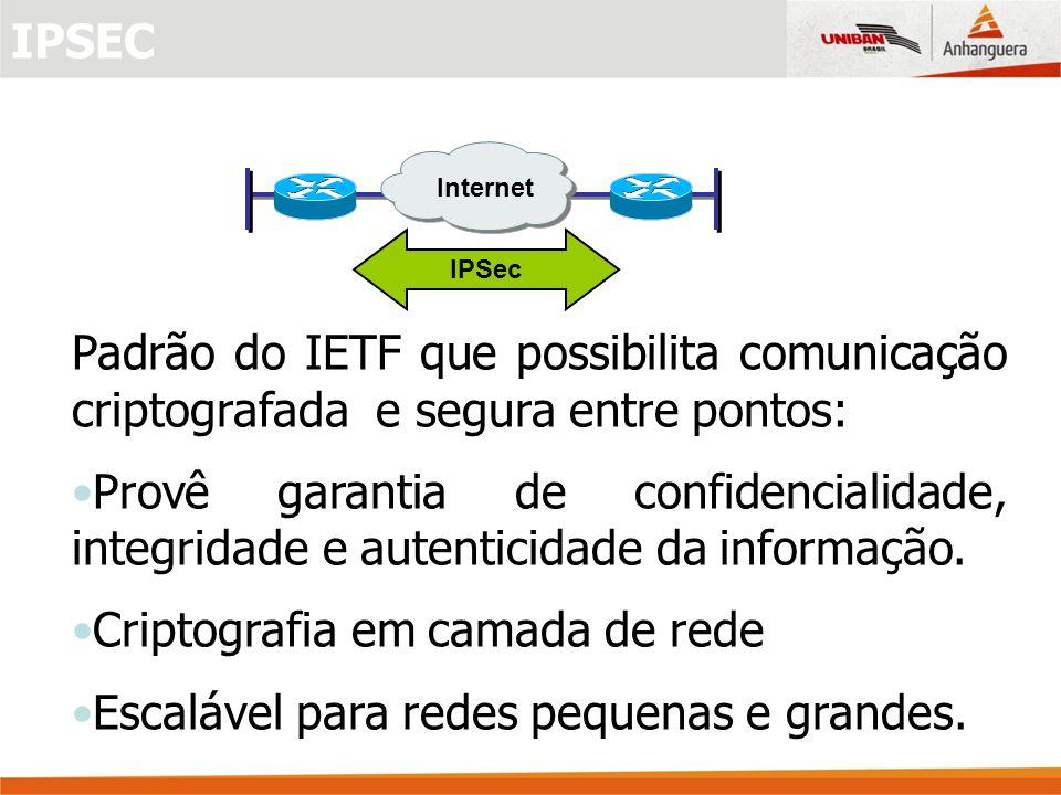 Criptografia em camada de rede