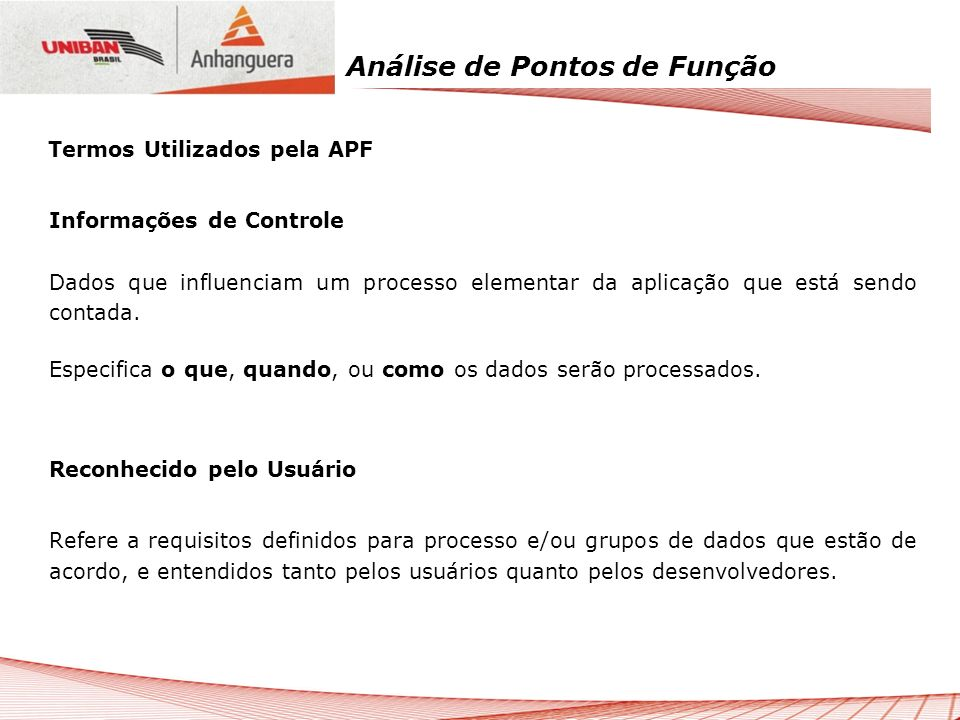Termos Utilizados pela APF
