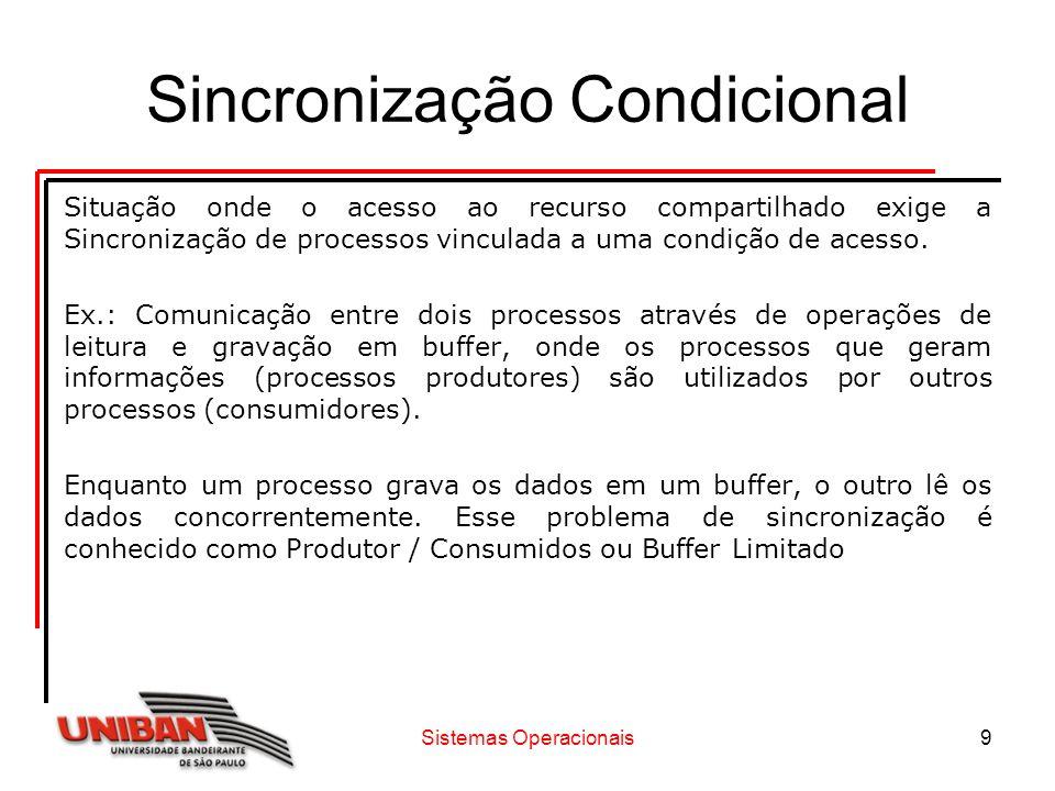 Sincronização Condicional