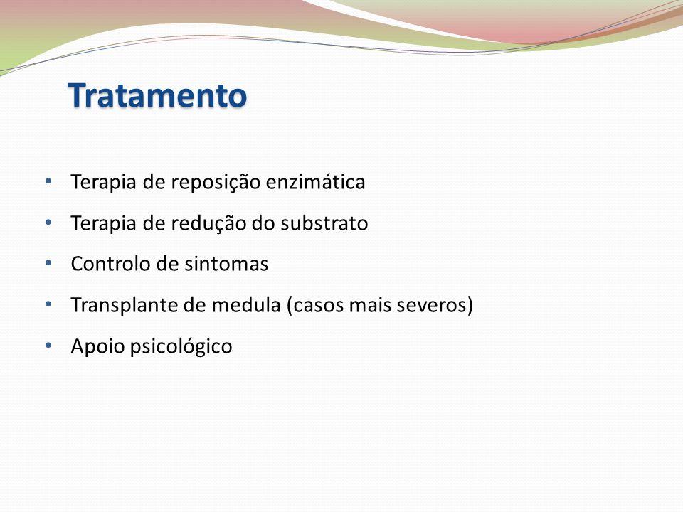 Tratamento Terapia de reposição enzimática