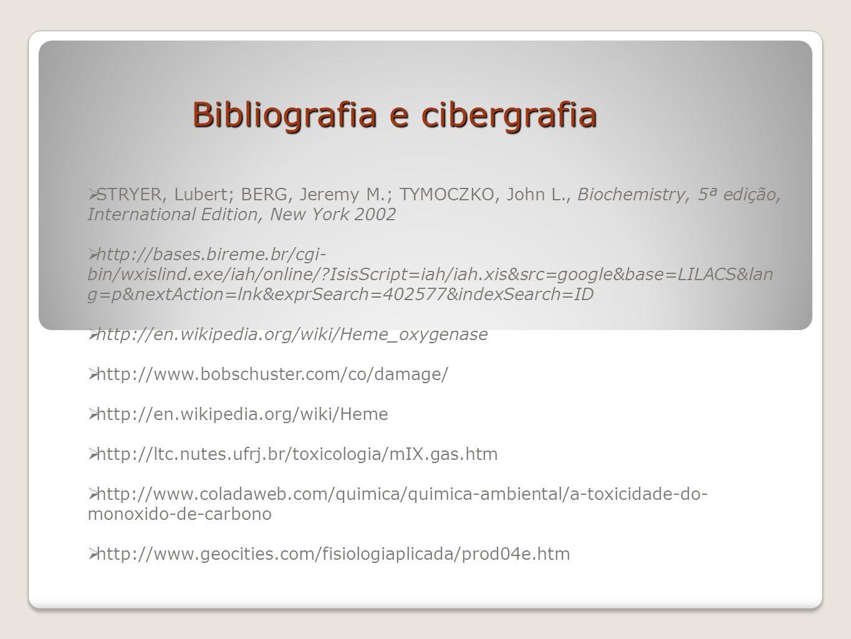 Bibliografia e cibergrafia