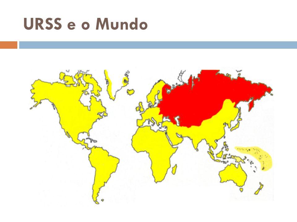 URSS e o Mundo