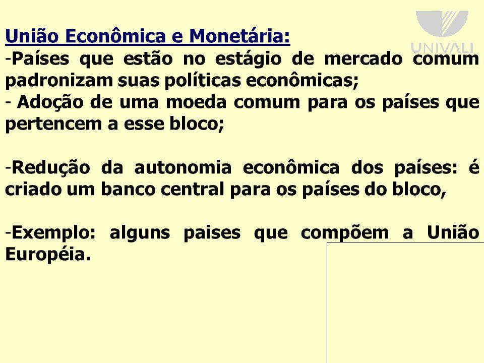 União Econômica e Monetária: