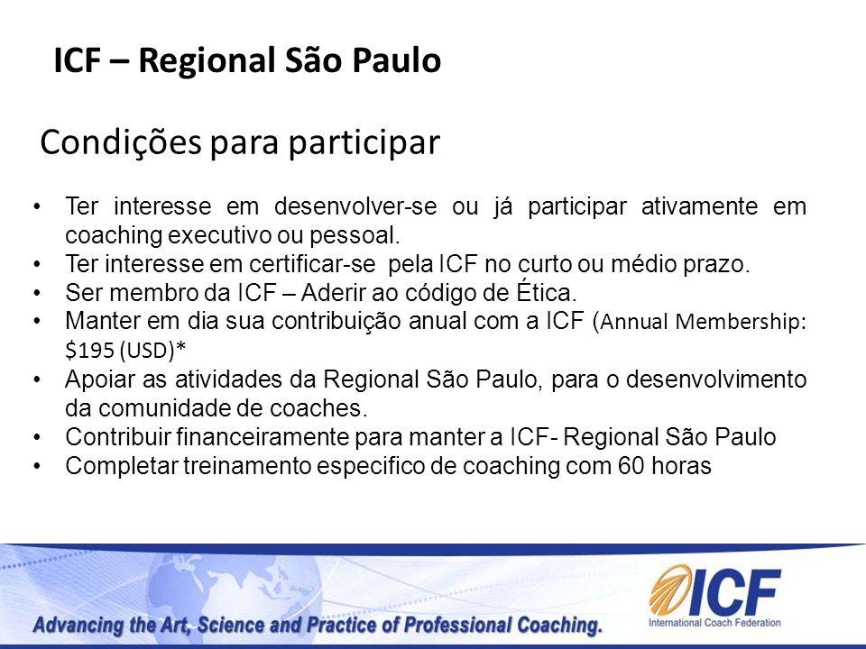 ICF – Regional São Paulo