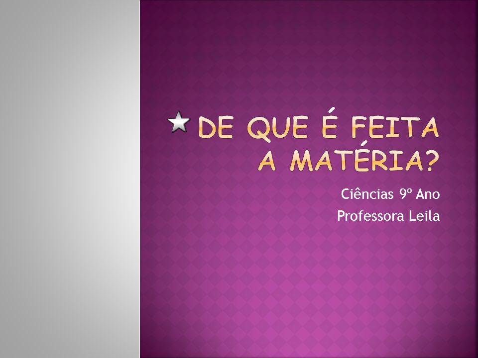 Ciências 9º Ano Professora Leila