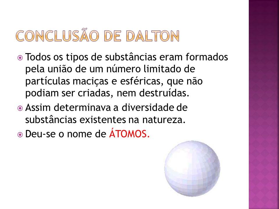 Conclusão de Dalton