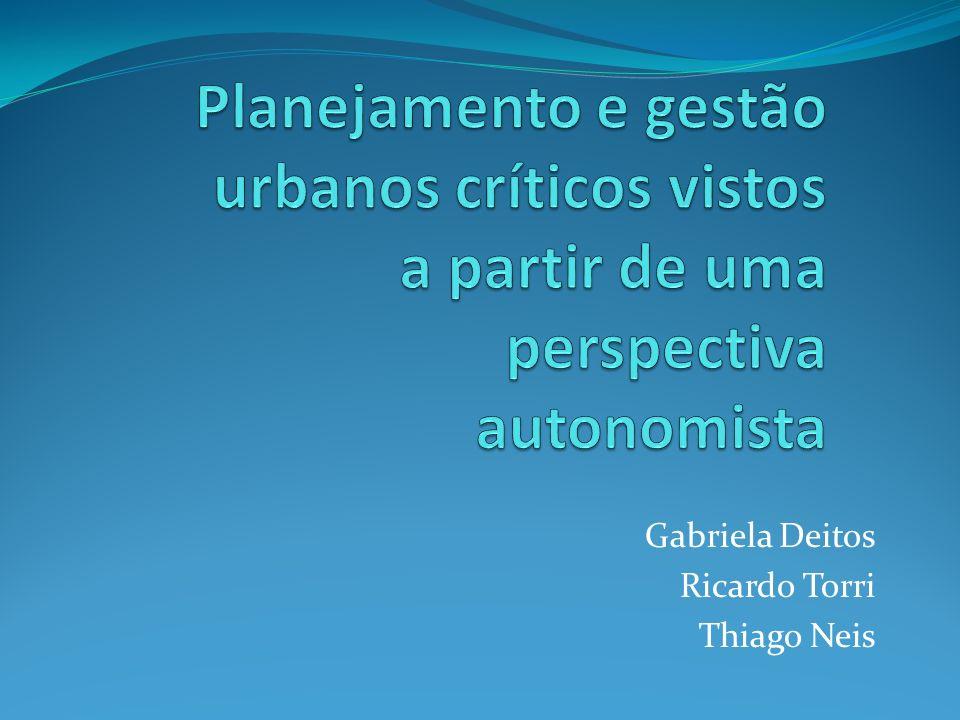 Gabriela Deitos Ricardo Torri Thiago Neis