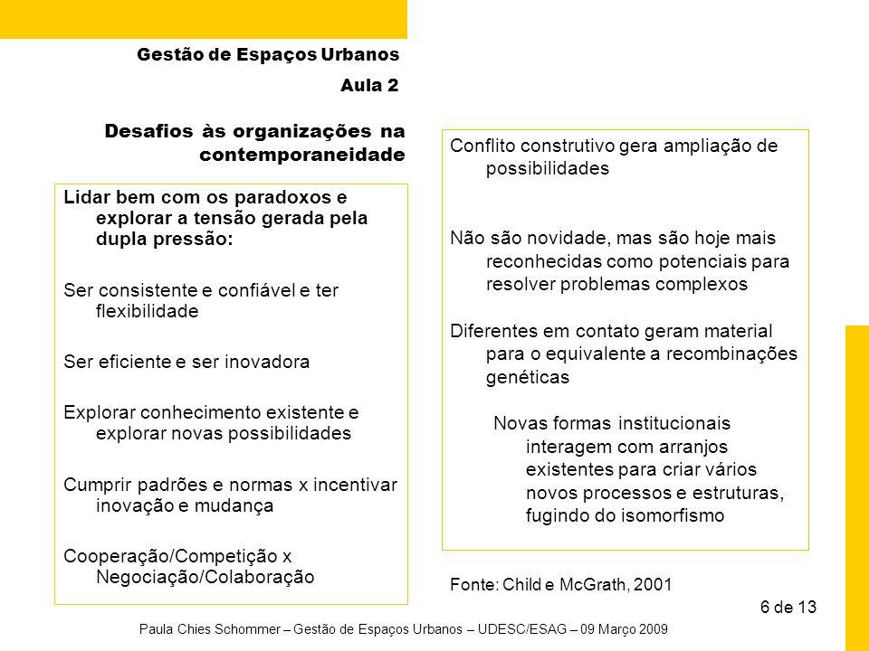 Desafios às organizações na contemporaneidade